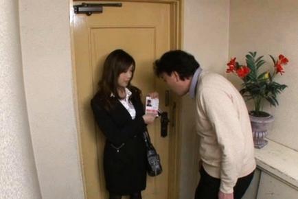 Akiho Hirose Amazing Japanese chick enjoys hot sex action