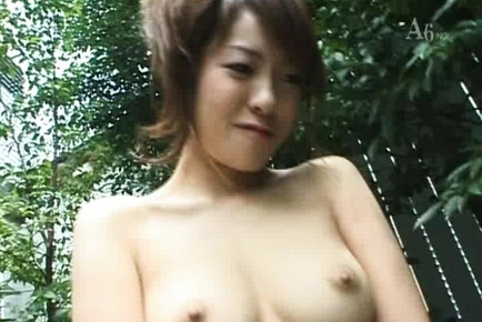 Mao Tachibana amazing Asian model gives head