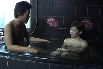 Hijiri kayama strokes cock with great cock sucking