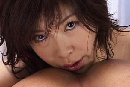 Sexy mature Kasumi Uehara loves to taste cock