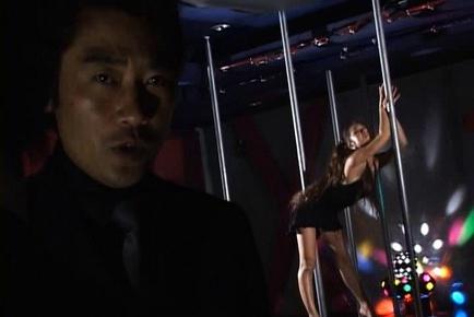 Erena Fujimori does a great stiptease and sucks cock for pleasure.