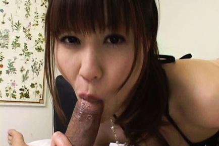Misuzu Imai treats lucky dude to super hot blowjob