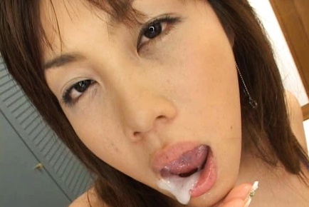 Yuka Matsushita Sucks Dick And Licks Balls For Cum