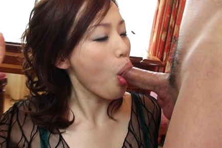 Two Dicks Wait To Be Sucked Off By MILF Yui Matsuno