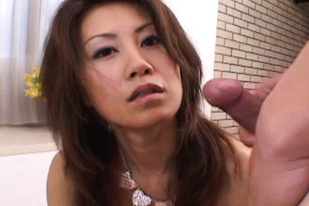 Two Loads Spray A MILF With Cum On Her Mouth And Tits