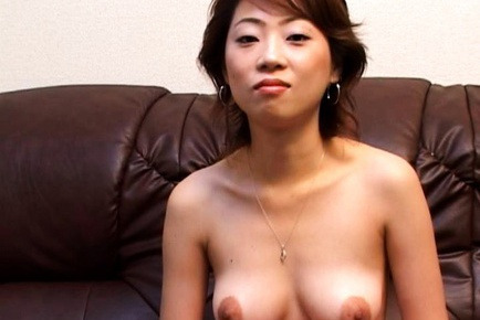 Asian milf swallow