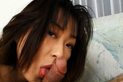 Yuka Takahashi Hot Japanese babe gives head