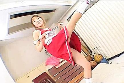 Giapponese AV Modella troia cheerleader mostra :: JapaneseSlurp.com