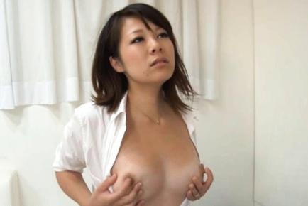 Sexy MILF Yuna Haruma Swallows His Cock And His Hot Load