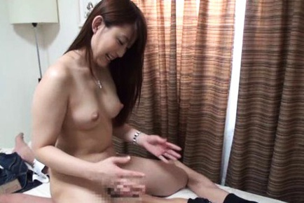 Mei amazaki sucking dick in interracial