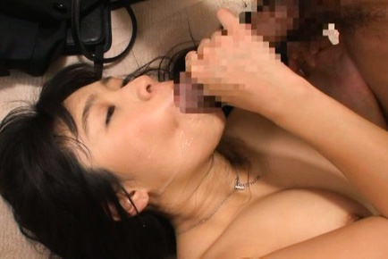 Hand work by a hot Japanese rouge Nana Ogura