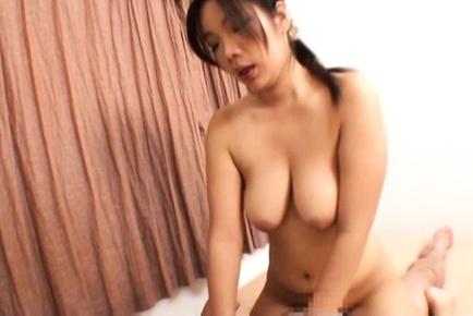 Amateur Japanese AV model is a wife enjoying a tasty dick