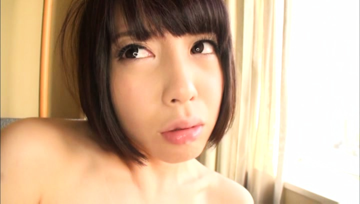 Arousing Japanese AV Model enjoys fingering and cock sucking