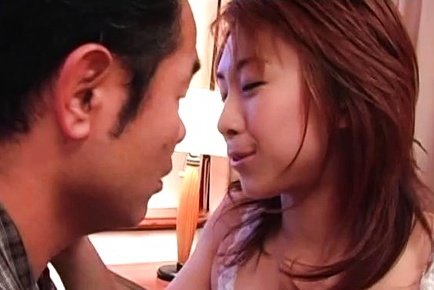 Sultry Karen Ichinose loves the taste of warm cum